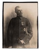 +2720, Original FOTO, 11,5x9cm, WK I, Orden, Auszeichnungen - Guerra 1914-18