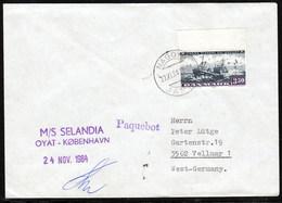 "M/V""SELANDIA"", 1984 PAQUEBOT Nagoya,Japan, Look Scan, RARE  !! 3.3-03 - Schiffe"