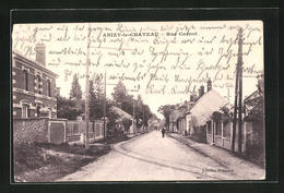 CPA Anizy-le-Chateau, Rue Carnot, Blick In Die Strasse - France