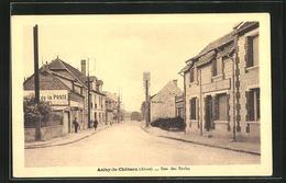 CPA Anizy-le-Château, Rue Des Ecoles - Frankrijk