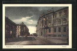 Cartolina Padova, Corso Del Popolo, Notturno - Padova (Padua)