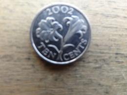 Bermudes   10  Cents  2002  Km 109 - Bermudes