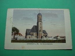 Uerdingen Am Rhein St Heinrichskirche Krefeld Dusseldorg - Duesseldorf