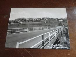 CARTOLINA PECCIOLI (PISA)-PONTE SULL'ERA E PANORAMA-VERA FOTOGRAFIA-VIAGGIATA 1972 - Pisa