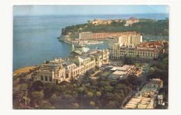 MONACO VUE AERIENNE SUR MONTE CARLO LE CASINO LE PORT ET LE ROCHER - Monte-Carlo