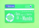 PORTUGAL - Optical Phonecard As Scan - Portugal