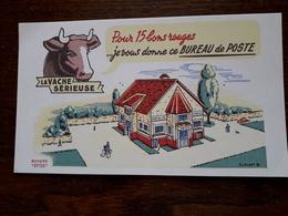 L18/25 Buvard. La Vache Serieuse. - Alimentare