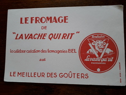 L18/26 Buvard. La Vache Qui Rit - Food