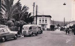 """EL KSEUR Rue Principale (1955, Camion De Tissus """"Le Trousseau Du Nord"""") - Algeria"""