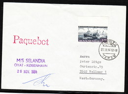 "M/V""SELANDIA"", 1984 PAQUEBOT  Shimizu,Japan, Look Scan, RARE  !! 3.3-38 - Schiffe"