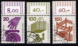 Bund 1971, Michel# 696, 702, 7030  WOR O - [7] República Federal