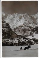Courmayeur (Aosta). Inverno. Mulo Spazzaneve. - Aosta
