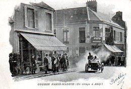 Ablis (78) : Course Paris Madrid 1903 - Ablis