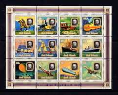 COOK  ISLANDS   1979    Death  Centenary  Of  Sir  Rowland  Hill   Sheetlet       MNH - Cook Islands
