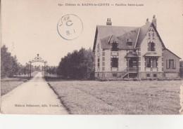 CPA - 690. Château De BAONS LE COMTE - Pavillon St Louis - France
