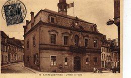 DPT 57 SARREGUEMINES L'Hotel De Ville - Sarreguemines
