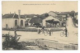 VILLARS En AZOIS 1913 PLACE ANiMéE Pr Laferté Ville Sous La Ferté Châteauvillain Joinville Chaumont Langres Saint Dizier - France