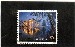 2018 Svizzera - Natale - Castello Sull'acqua Di Bottmingen - Used Stamps