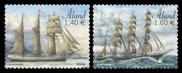 Aland 2019 Mih. 466/67 Sailing Ships Vineta And Parma MNH ** - Aland