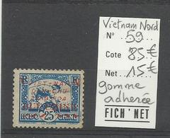 Sud Viêt-Nam, YT N° 59 Neuf Gomme Adhérée, Cote YT 85€ - Vietnam