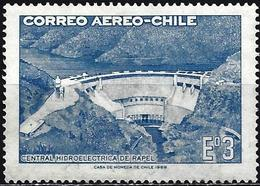 Chile 1969 - Mi 707 - YT Pa 257 ( Dam & Hydroelectric Power Plant ) - Chile