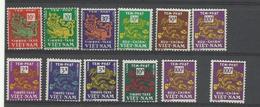 Viêt-Nam, Un Lot De Timbres-taxe, Cote YT 66€10, Voir Description - Vietnam