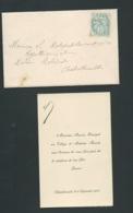 Chatellerault - F.P. Naissance De Jeanne Maurin Le 8/09/1903    Bb16119 - Nacimiento & Bautizo