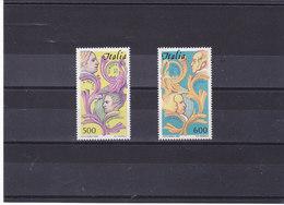 ITALIE 1985 EUROPA Yvert 1664-1665 NEUF** MNH - 1946-.. République