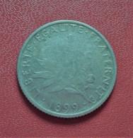 FRANCE 1 FRANC SEMEUSE 1899 ARGENT     (B1010) - H. 1 Franc