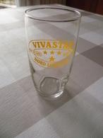 6 Verres Publicité Vivastar , Bière De Luxe , Bière Surfine , Nord Lorraine - Verres