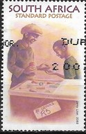 SOUTH AFRICA 2003 Life In Informal Settlements - (1r.65) - Shopkeeper With Customer FU - Afrique Du Sud (1961-...)