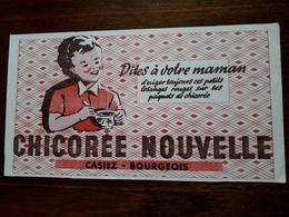 L18/30 Buvard. Chicorée Nouvelle. Casiez . Bourgeois - Café & Thé