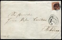 DANEMARK - N° 2 / LSC DE FLENSBURG LE 13/7/1853 - TB - 1851-63 (Frederik VII)