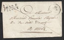 LSC - P.52.P NANCY A METZ A Le MAIRE DE METZ - 1801-1848: Précurseurs XIX
