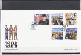 Guernsey / FDC - Guerre Mondiale (Seconde)