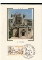 Carte Philatélique Premier Jour 1786-1859   3 Mai 1986 Ars La Vieille Eglise Et La Basilique  Cpsm Format 10-15 - Evénements