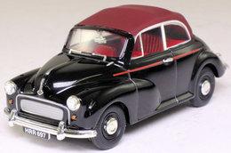 Black & Maroon Morris Minor Convertible. - PKW & Vierräder