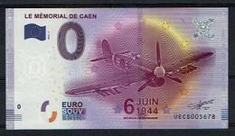 Billet Touristique 0 €  2016 Memorial De Caen 6 Juin 1944 Uecs 2016-1 - Jetons & Médailles