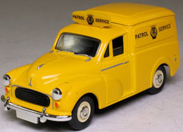 Morris Minor Van: Automobile Association. - Cars & 4-wheels