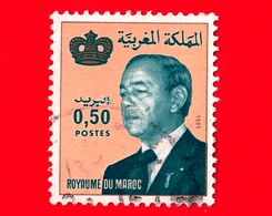 MAROCCO - Usato - 1981 - Re Hassan II (1981-1999) - 0.50 - Marocco (1956-...)