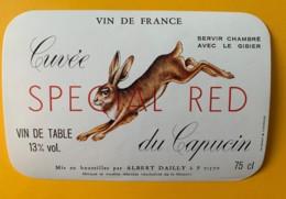 10015 - Cuvée Du Capucin Special Red (Lièvre) - Rouges