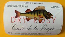 10016 - Cuvée De La Rayée Dry Rosy - Rosés