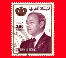 MAROCCO - Usato - 1988 - Re Hassan II (1981-1999) - 3.60 - Marocco (1956-...)