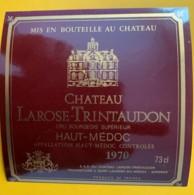 10018 - Château Larose-Trintaudon 1970 Haut-Médoc 73cl - Bordeaux