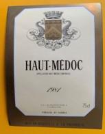 10030 -  Haut-Médoc 1981 - Bordeaux
