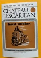 10033 - Château Lescarjean  Haut-Médoc - Bordeaux