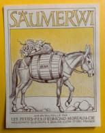 10036 - Säumerwi (Mulet) - Etiquettes