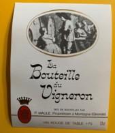 10037 - La Bouteille Du Vigneron P. Maule Montagne Gironde - Rouges