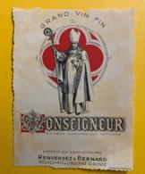 10038 - Monseigneur Renversez & Bernard Libourne Gironde - Vino Rosso