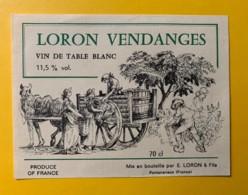 10044 - Loron Vendanges - Blancs